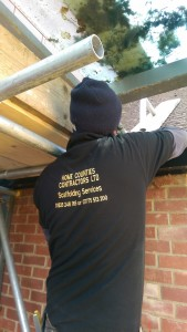 one of our scaffold  team at work