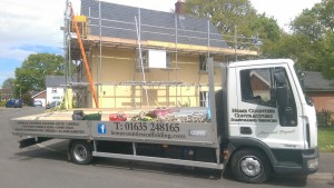 Scaffold team lorry