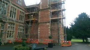 period property under scaffold