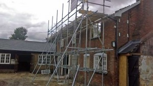 period property scaffold