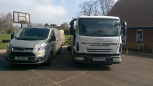 our scaffold vehicles