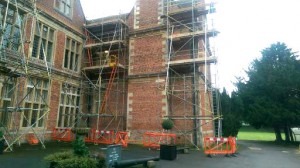 period property in scaffold